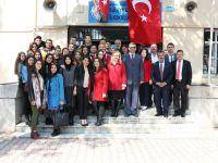 Eksen Temel Lisesi,  23 Nisan'ı Dumlupınar İlkokulu öğrencileriyle kutladı