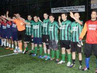İlçe Adliyeler arası 5. halı saha futbol turnuvasında 3.cü Gün