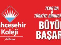 TEOG'da 8 Türkiye Birincisi ile Büyük Başarı