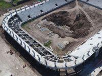 Akhisar Stadyum inşaatında işler iyi gidiyor