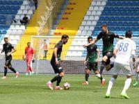 Akhisarspor, 6 hafta sonra deplasmandan 3 puan çıkardı