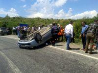 Akhisar-Gördes yolunda kaza; 5 yaralı