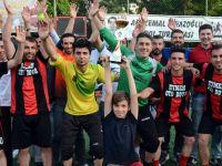 Kirazoğlu Futbol Turnuvasında Sanayispor Şampiyon Oldu