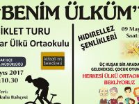 Akhisar Ülkü Ortaokulundan bisiklet turu ve hıdırellez şenlikleri