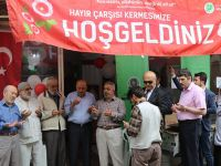Es-Seyyid Osman Hulusi Efendi Vakfı Akhisar Somunca Baba hayır çarşısı kermesi açıldı