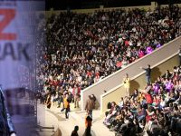 Akhisar Üniversitesi için Kurtalan Ekspres sahnede gençleri coşturdu