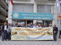 Akhisar, Kula ve Selendili üreticilere Büyükşehir desteği
