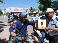 Trafik Haftasında, sürücülere sürpriz ikram