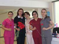 Özel Doğuş Hastanesi'nde hemşireler günü kutlandı