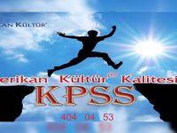 Amerikan Kültür'den KPSS'ye hazırlananlara büyük destek