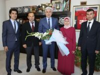 Akhisar Belediye Başkanı Salih Hızlı'ya SGK haftası ziyareti