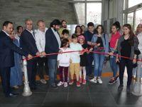 Çağlak Festivali Karikatür Atölyesi 7.yıl sergisi açıldı
