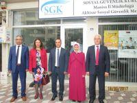 SGK Haftası kutlama ziyaretleri