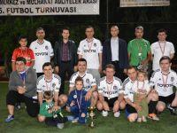 İlçe Adliyeler arası futbol turnuvasında Bambamspor Şampiyon oldu