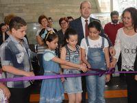 Gülsüm Kaya ve öğrencileri çocuk resimleri sergisi açıldı