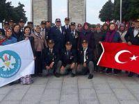 Akhisarlı Muharip Gaziler Çanakkale'de
