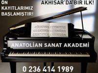 Akhisar'da MEB'e bağlı ilk Müzik Akademisi açılıyor