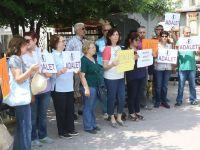 CHP Akhisar Kadın Kolları'ndan tutuklu milletvekili Berberoğlu için adalet istedi