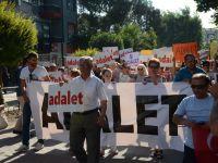 CHP İlçe teşkilatı Adalet için yürüdü