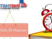 Şimdi çocuklar için İngilizce zamanı!