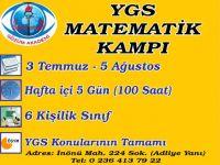 YGS matematik kampı başlıyor