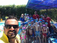 Ege yüzme akademide ilk tur tamamlandı