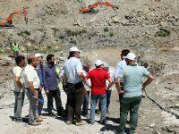 Eker, Gürdük Barajı ve Çamönü Göletini inceledi