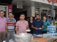 Evşen AVM'den 15 Temmuz Şehitleri anısına pilav hayrı