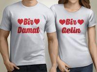 Sevgili Tişörtleri ve Kombinleri