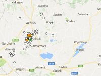 Akhisar'da 3'ün üzerinde 2 deprem meydana geldi