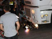 Akhisar-Zeytinliova kavşağında kaza; 1 yaralı