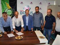 Akhisar Belediyespor'un sağlıkta sponsoru yeniden Özel Doğuş Hastanesi oldu