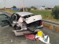 Akhisar'da kaza; 6 kişi yaralandı