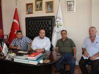 Antalya Pazarcılar Oda başkanı Öz, örnek pazaryerini inceledi