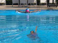 Ege Yüzme Akademisi öğrencileri hünerlerini sergiledi
