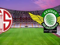 Antalyaspor ile Akhisarspor 9. randevu