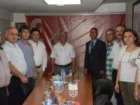 Akhisargücü, CHP'yi ziyaret etti