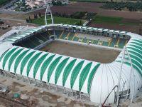 Spor Toto Akhisar Belediye Stadyumu çatı kaplama işi sona erdi!