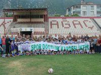 Akhisargücü Futbol Yaz Okulu Ordusu Kırkağaç'ta