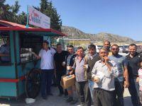 Kabir Ziyaretindeki vatandaşlara büyükşehir ikramı
