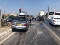 Akhisar'da zincirleme kaza
