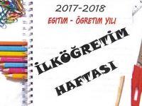 İlköğretim haftası programı açıklandı