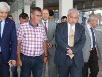 Manisa Valisi Güvençer, Zeytin İhtisas OSB'yi yerinde inceledi