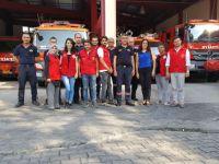 Akhisar Gençlik Merkezi, itfaiyeciler haftasını kutladı