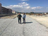 Akhisar Cezaevi yolu asfaltlandı
