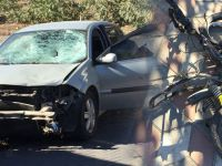 Otomobil ile şarjlı bisiklet çarpıştı 1 kişi öldü