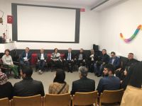 AB konseyi Türk heyeti, Fransa'da evleri yakılan Türk ailelerinin acılarına ortak oldu