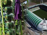 Spor Toto Akhisar Belediye Stadyumunda hibrit çim ekibimi başladı