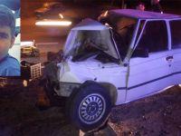 Akhisar'da çok feci kaza 1 kişi öldü 3 ağır yaralı