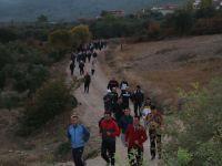 Bu hafta doğa yürüyüşüne 350 kişi katıldı